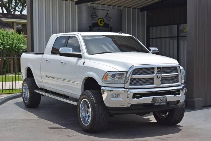2014 RAM Ram Pickup 2500 for sale at G MOTORS in Houston TX