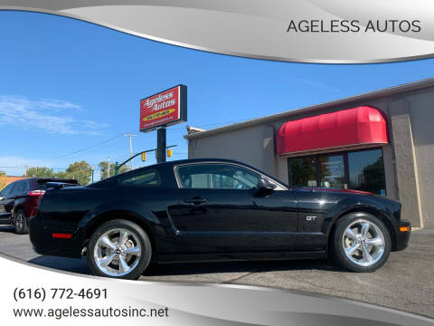 2007 Ford Mustang for sale at Ageless Autos in Zeeland MI