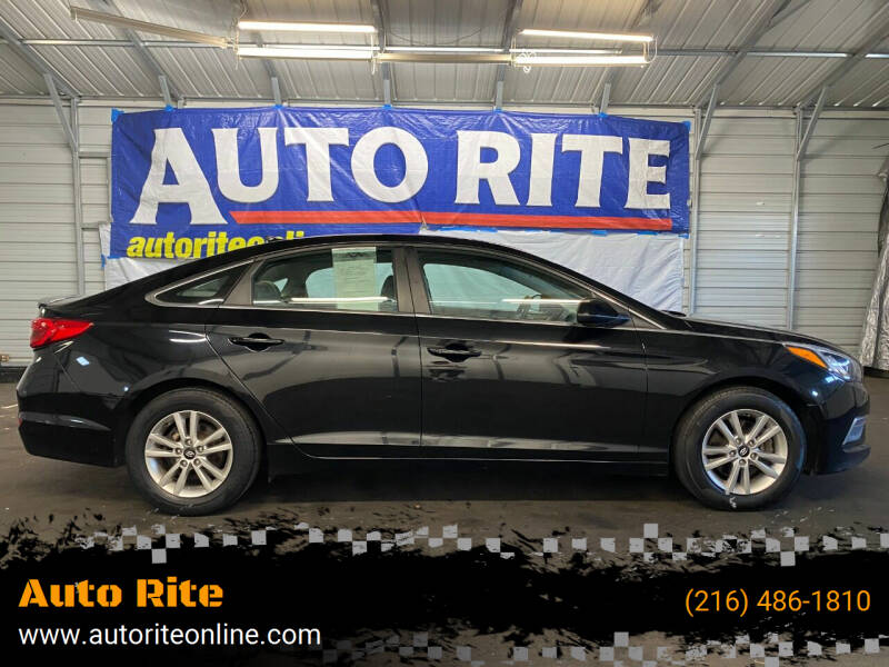 2015 Hyundai Sonata for sale at Auto Rite in Bedford Heights OH