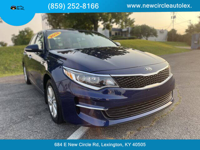 2018 Kia Optima for sale at New Circle Auto Sales LLC in Lexington KY