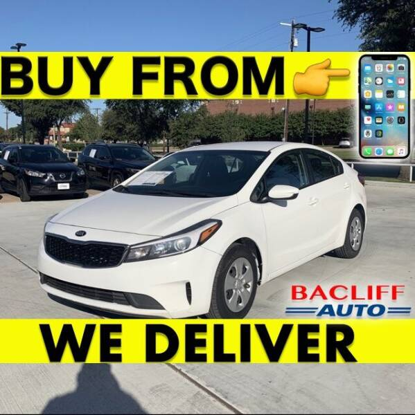 2017 Kia Forte for sale at Bacliff Auto in Bacliff TX