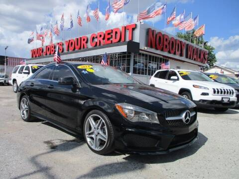 2014 Mercedes-Benz CLA for sale at Giant Auto Mart 2 in Houston TX