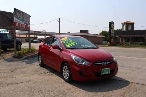 2013 Hyundai Accent for sale at E & S Auto Sales in Crest Hill IL