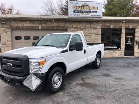 2012 Ford F-250 Super Duty for sale at CRUMP'S AUTO & TRAILER SALES in Crystal City MO