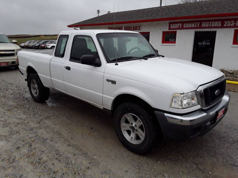 2004 Ford Ranger for sale at Sarpy County Motors in Springfield NE