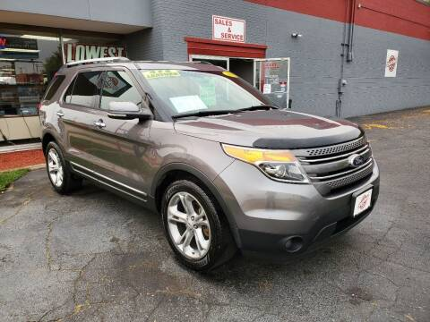 2013 Ford Explorer for sale at Stach Auto in Janesville WI