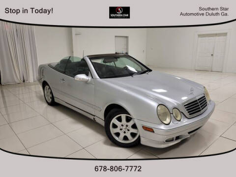 2003 Mercedes-Benz CLK for sale at Southern Star Automotive, Inc. in Duluth GA