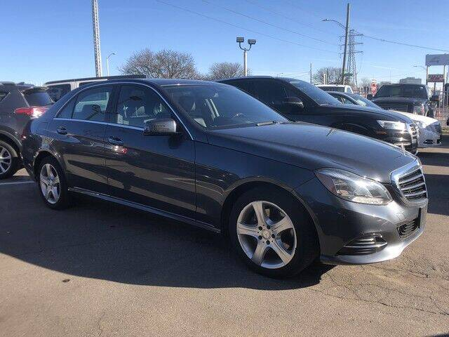 2014 Mercedes-Benz E-Class for sale at SOUTHFIELD QUALITY CARS in Detroit MI