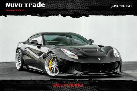 2014 Ferrari F12berlinetta for sale at Nuvo Trade in Newport Beach CA