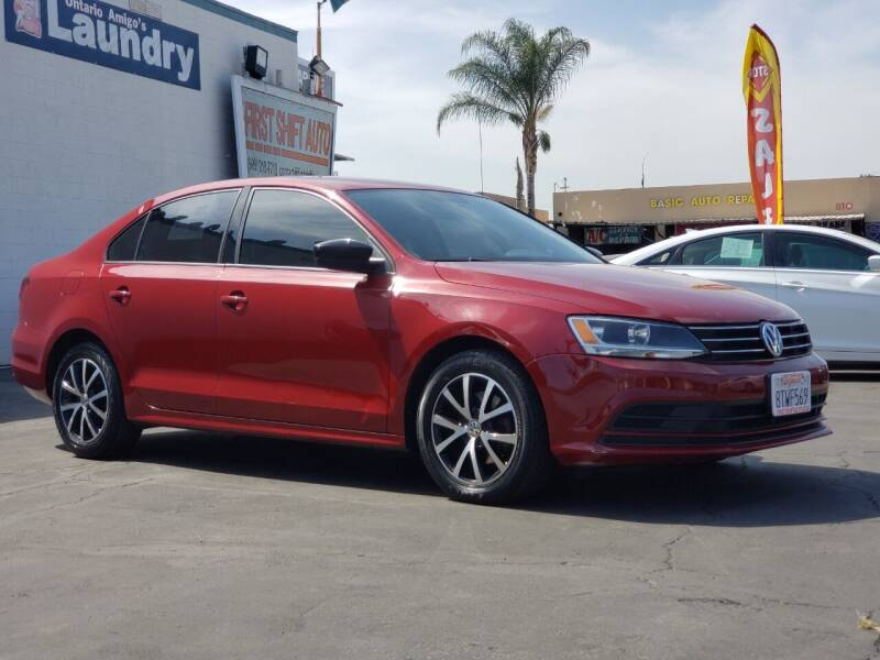 2016 Volkswagen Jetta for sale at First Shift Auto in Ontario CA