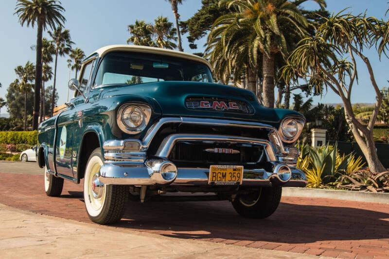 1956 GMC 100 Suburban for sale at Milpas Motors in Santa Barbara CA