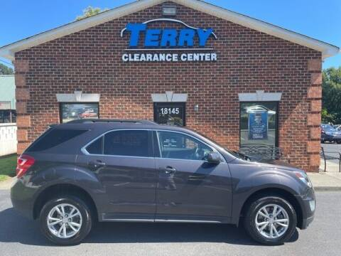 2016 Chevrolet Equinox for sale at Terry Clearance Center in Lynchburg VA