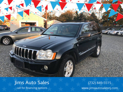 2007 Jeep Grand Cherokee for sale at Jims Auto Sales in Lakehurst NJ