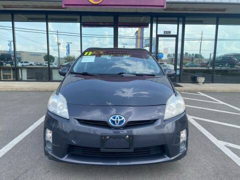 2011 Toyota Prius for sale at Greenville Motor Company in Greenville NC