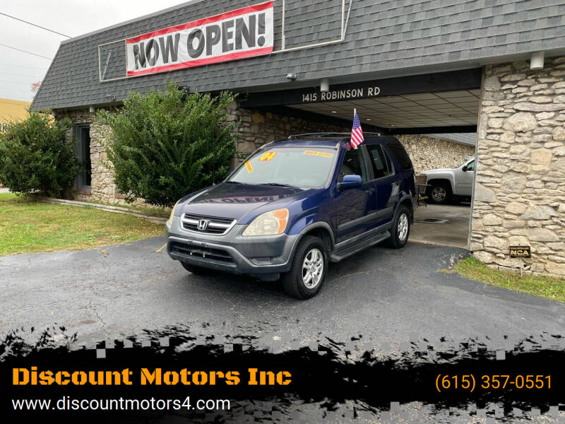 2004 Honda CR-V for sale at Discount Motors Inc in Old Hickory TN