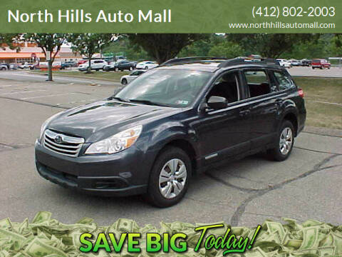 2012 Subaru Outback for sale at North Hills Auto Mall in Pittsburgh PA