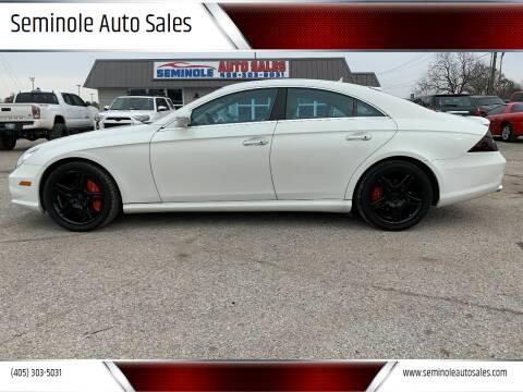 2007 Mercedes-Benz CLS for sale at Seminole Auto Sales in Seminole OK