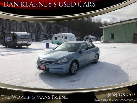 2011 Honda Accord for sale at DAN KEARNEY'S USED CARS in Center Rutland VT