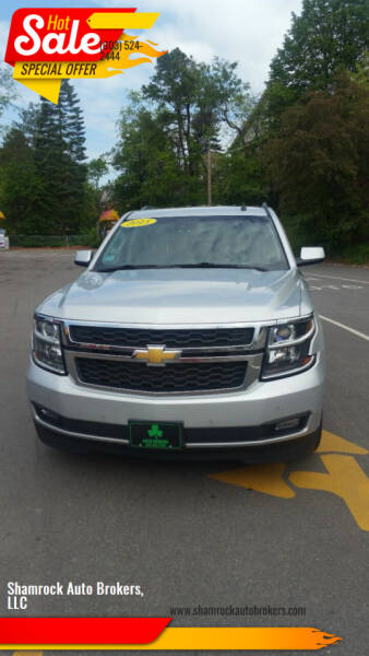 2015 Chevrolet Suburban for sale at Shamrock Auto Brokers, LLC in Belmont NH