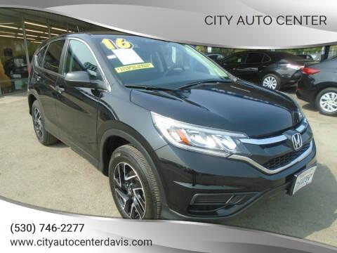 2016 Honda CR-V for sale at City Auto Center in Davis CA