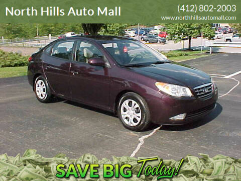 2009 Hyundai Elantra for sale at North Hills Auto Mall in Pittsburgh PA
