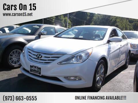 2013 Hyundai Sonata for sale at Cars On 15 in Lake Hopatcong NJ