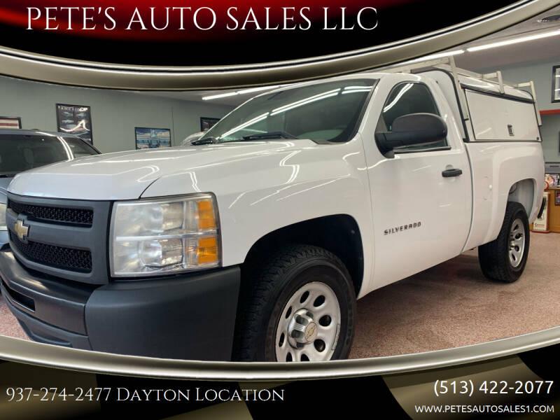2011 Chevrolet Silverado 1500 for sale at PETE'S AUTO SALES LLC - Dayton in Dayton OH