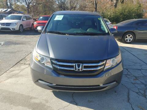 2016 Honda Odyssey for sale at Adonai Auto Broker in Marietta GA