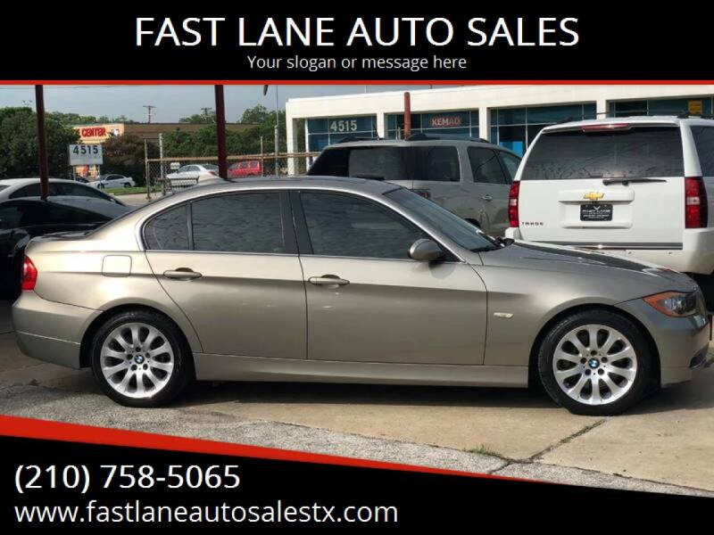 2008 BMW 3 Series for sale at FAST LANE AUTO SALES in San Antonio TX
