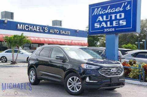 2020 Ford Edge for sale at Michael's Auto Sales Corp in Hollywood FL