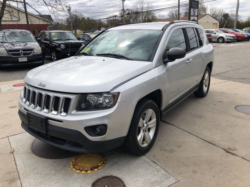 2014 Jeep Compass for sale at Barga Motors in Tewksbury MA
