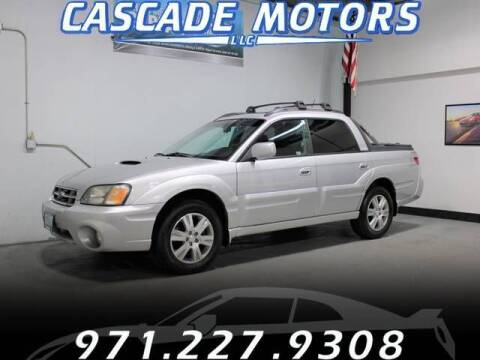 2006 Subaru Baja for sale at Cascade Motors in Portland OR