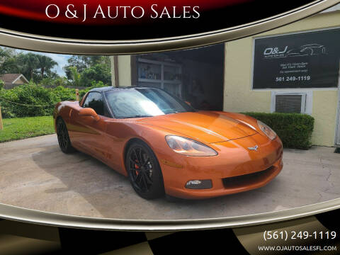 2007 Chevrolet Corvette for sale at O & J Auto Sales in Royal Palm Beach FL