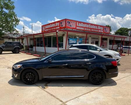 2014 Kia Cadenza for sale at LA Auto Sales in Monroe LA