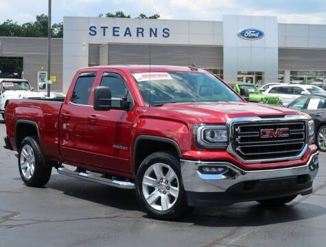 2018 GMC Sierra 1500 for sale at Stearns Ford in Burlington NC