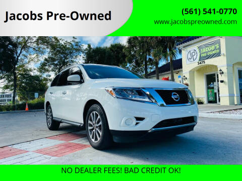 2015 Nissan Pathfinder for sale at Jacobs Pre-Owned in Lake Worth FL