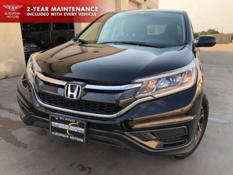 2016 Honda CR-V for sale at European Motors Inc in Plano TX