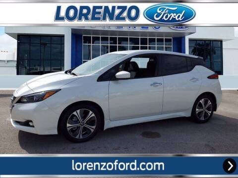 2020 Nissan LEAF for sale at Lorenzo Ford in Homestead FL