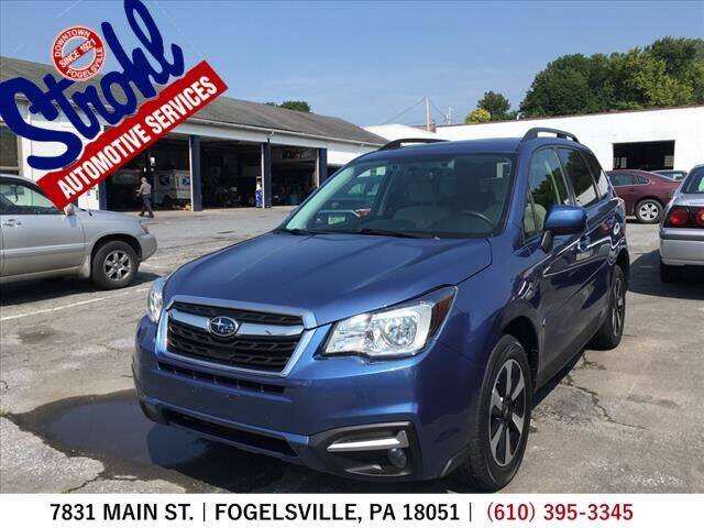 2017 Subaru Forester for sale at Strohl Automotive Services in Fogelsville PA