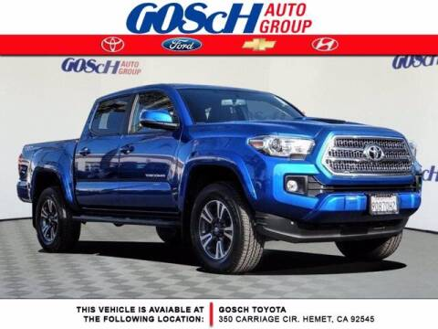 2017 Toyota Tacoma for sale at BILLY D SELLS CARS! in Temecula CA