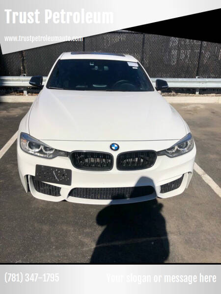 2013 BMW 3 Series for sale at Trust Petroleum in Rockland MA