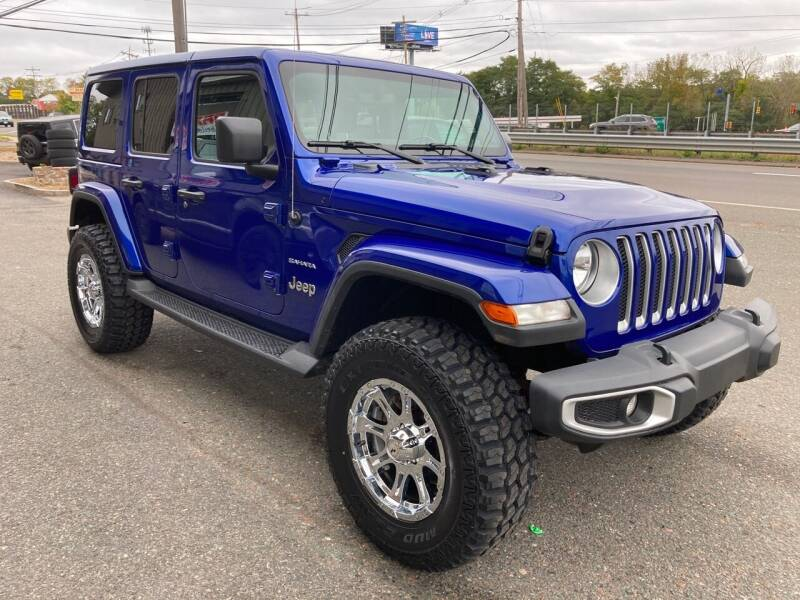 2020 Jeep Wrangler Unlimited for sale at 222 Newbury Motors in Peabody MA