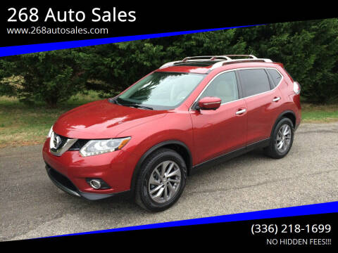 2014 Nissan Rogue for sale at 268 Auto Sales in Dobson NC