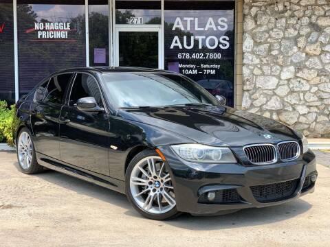 2011 BMW 3 Series for sale at ATLAS AUTOS in Marietta GA