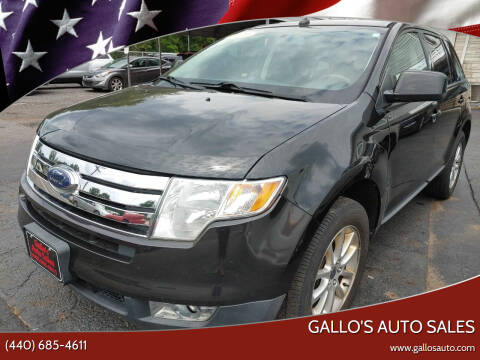 2010 Ford Edge for sale at Gallo's Auto Sales in North Bloomfield OH