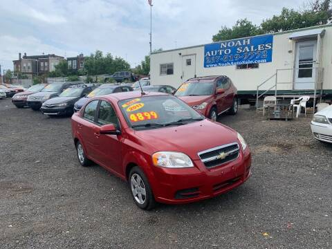 2011 Chevrolet Aveo for sale at Noah Auto Sales in Philadelphia PA
