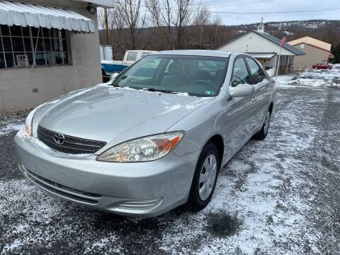 2004 Toyota Camry for sale at JM Auto Sales in Shenandoah PA