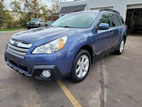 2014 Subaru Outback for sale at Finish Line Auto Sales Inc. in Lapeer MI