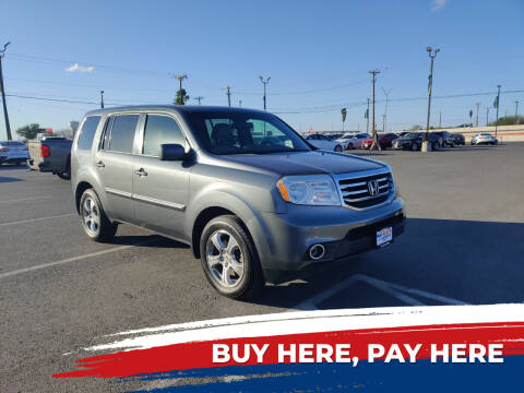 2013 Honda Pilot for sale at Mid Valley Motors in La Feria TX