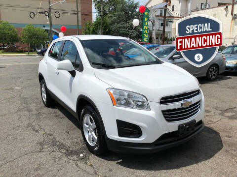 2016 Chevrolet Trax for sale at 103 Auto Sales in Bloomfield NJ